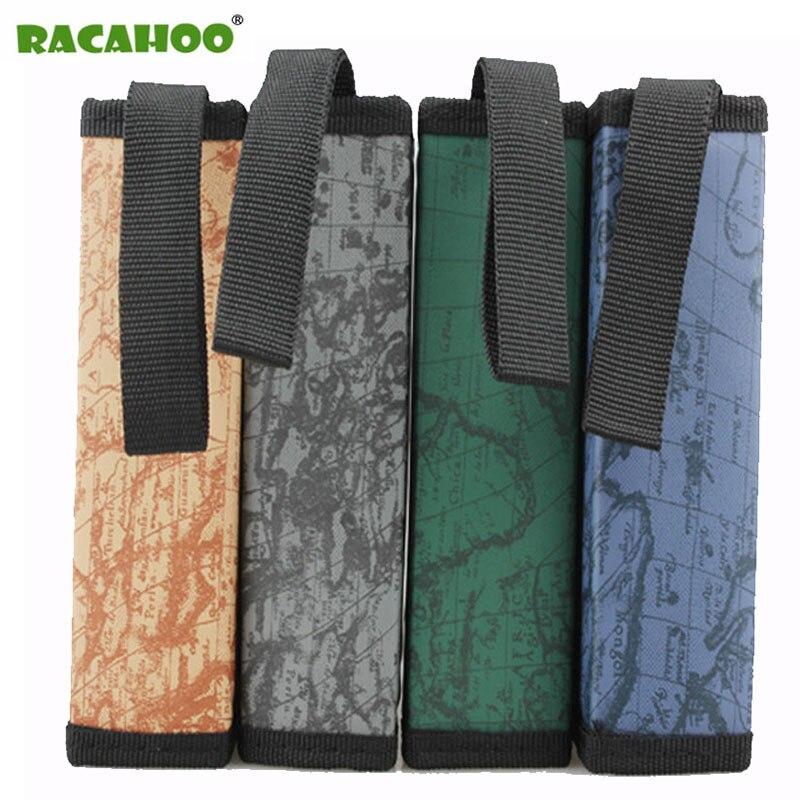 где купить RACAHOO New World Map Pattern CD Box DVD Bag Storage Carry Case Organizer Sleeve Nylon Wallet Cover For Home Or Car CD Package по лучшей цене