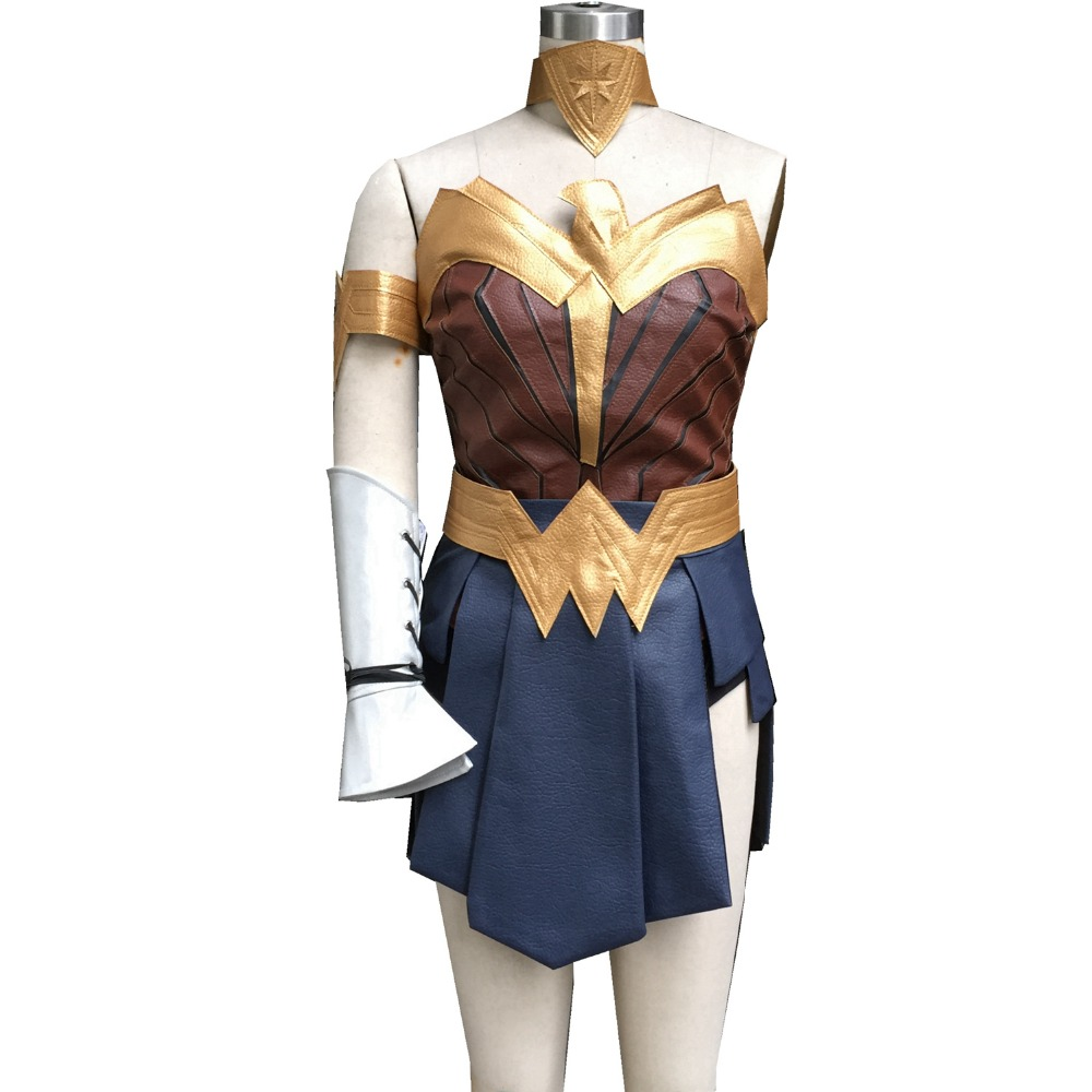 Wonder Woman Diana Prince cosplay costume set halloween costumes for women gal gadot wonder woman costume clothing