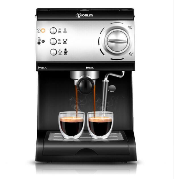 DL-KF6001 Donlim espresso italiano caffè macchina di famiglia macchina da caffè a vapore pompa maker 20Bar 1.5L 110-220-240v