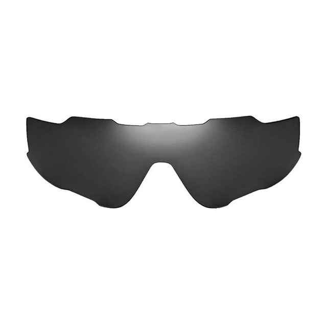 0305d9425a Walleva Polarized Black Replacement Lenses for Oakley Jawbreaker Sunglasses