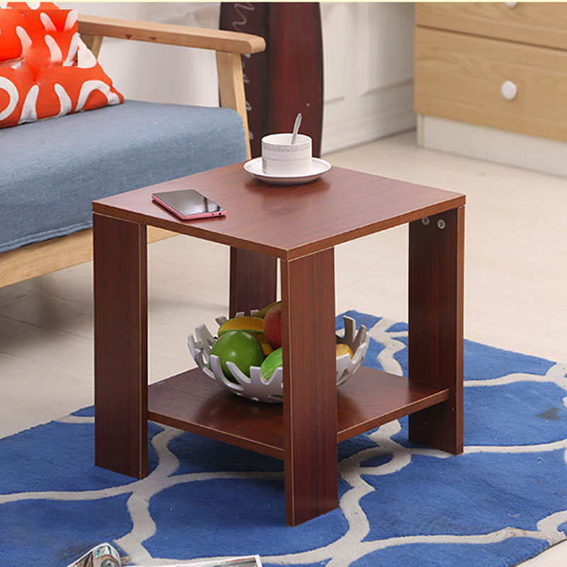 5 STYLE Simple modern small coffee table mini-size living room bench bedroom bedside  tattoo creative small table With Storage a round coffee table made of iron cane outdoor recreation modern simple angle