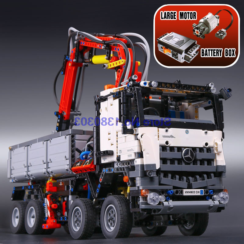 buy lepin 20005 42043 technic series arocs 3245 building blocks with electric. Black Bedroom Furniture Sets. Home Design Ideas