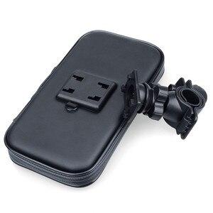 Image 4 - Wodoodporna rowerów telefon uchwyt na stojak na telefon wsparcie dla iPhone 4 5 6 Plus rower GPS uchwyt na telefon torba Moto Suporte para Celular
