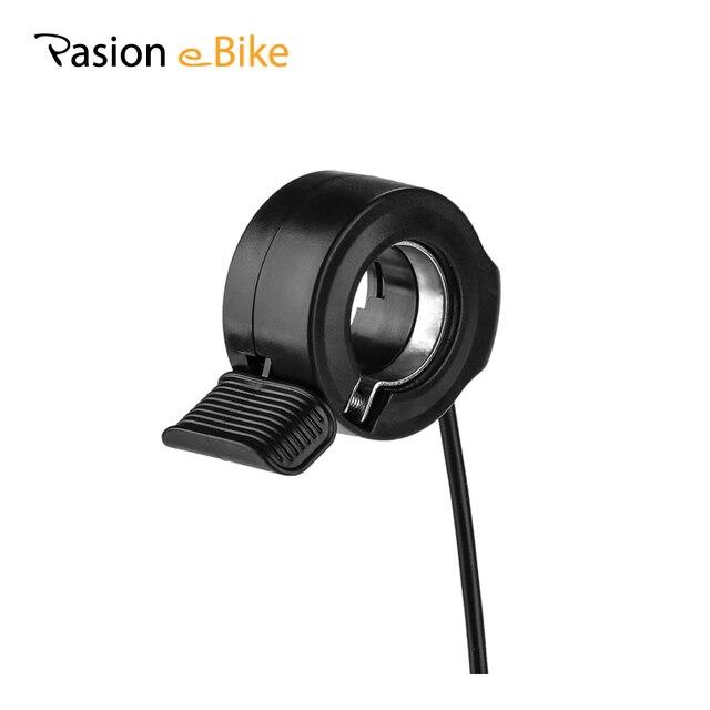 Pasion E велосипед дроссельная заслонка В 36 В 48 В 72 в палец E велосипед Thumb Throttles Электрический велосипед дроссельная заслонка Электрический велосипед аксессуары Запчасти