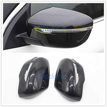 For Nissan Juke 2014 2015 2016 2017 2018 Carbon Fiber Color Door Mirror Cover Rear View Overlay Chrome Car Styling Accessories - DISCOUNT ITEM  24% OFF Automobiles & Motorcycles