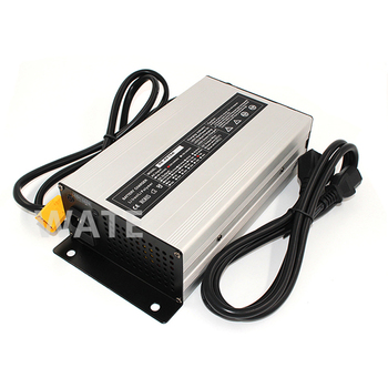 50.4V 15A Charger charger  for 12S 44.4V Lithium battery electric bike Aluminium Alloy with Fan