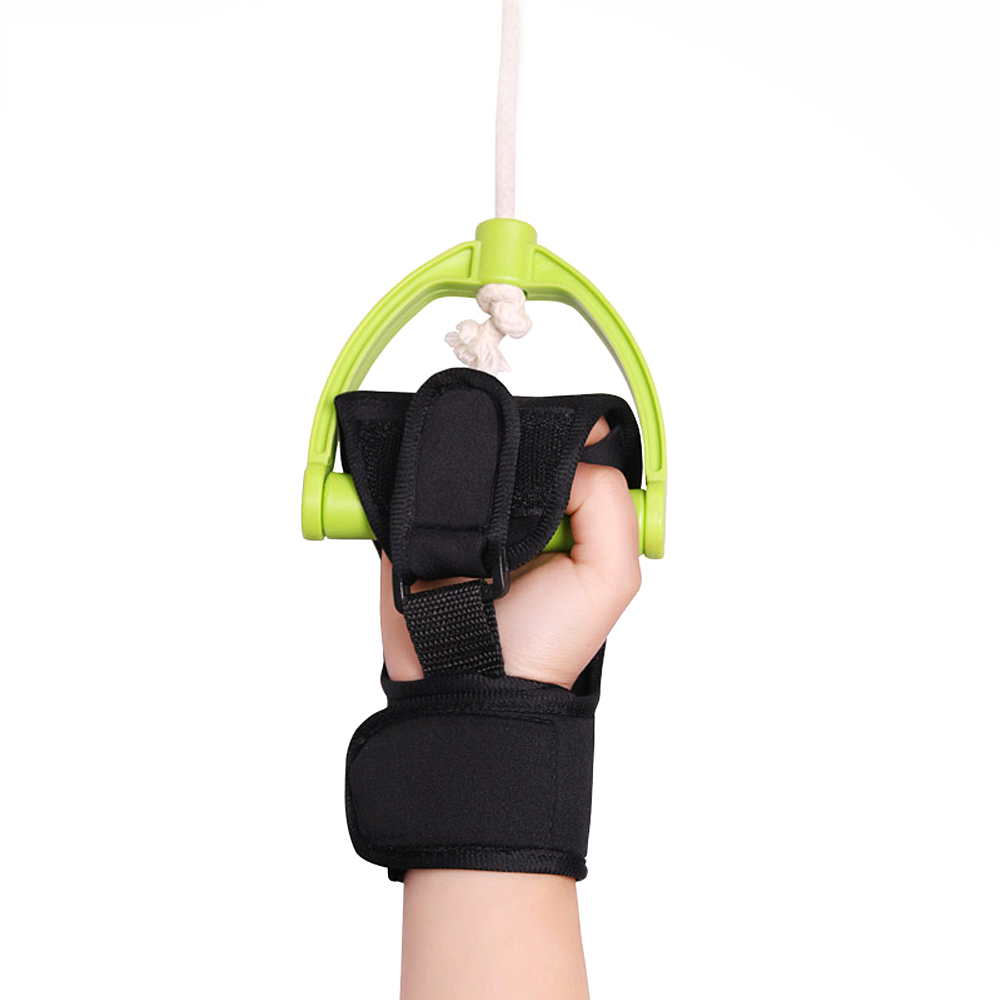 1PC Effective Auxiliary Fixed Gloves Rehabilitation Training Tool Hand Fist Finger Gloves For Stroke Hemiplegia Patient 2