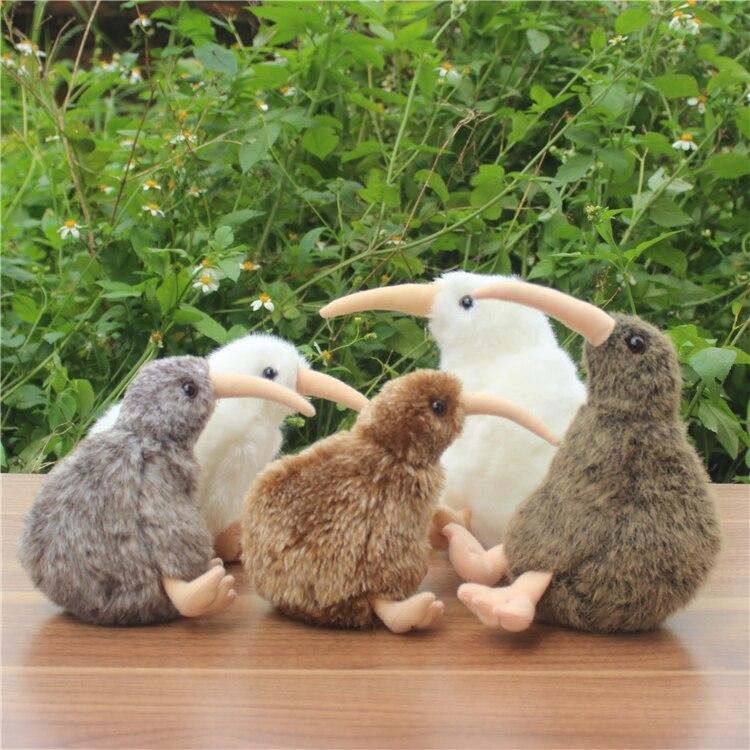 Plush Animals Toy Simulation Kiwi Doll  Girl  Birthday Gift Kids Toys plush animals toys for children simulation raccoon doll toy gift soft
