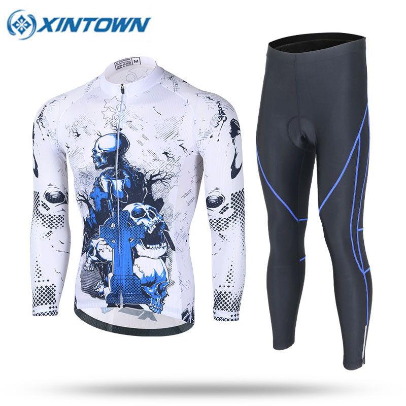 2017 Pro Team Cyclisme Equipe Cycling Clothing Bike Clothes Quick Dry Men Bicycle Clothes Long Sleeves Cycling Jerseys Sets nuckily quick dry anti uv long sleeve bicycle jerseys sets windproof cycling clothing gel padds bike pants cycling jerseys sets