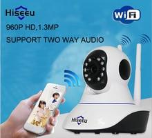 Hiseeu FH1B 960P Wireless IP Camera Wifi Night Vision Camera IP Network Camera with alarm CCTV WI-FI P2P 1.3MP Onvif Camera