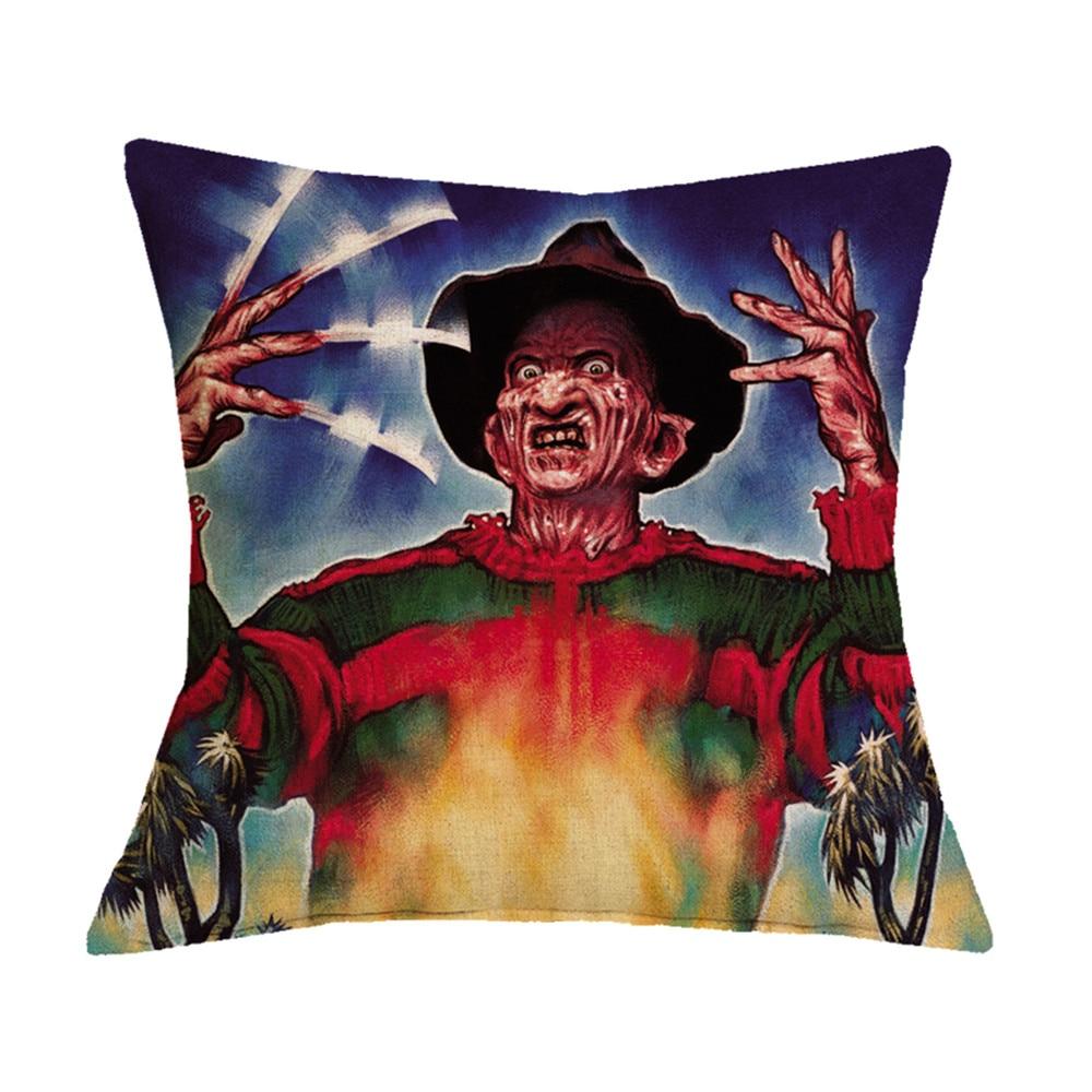 Cushion Cover Pillowcase Horror Character Murderers Chucky Jason  Pillow Covers
