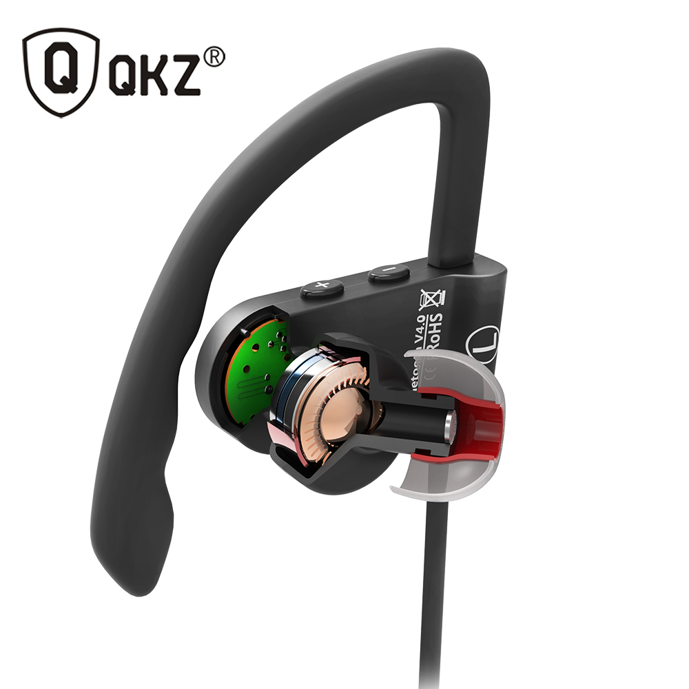 Bluetooth Earphone Sport Wireless HiFi Music Stereo Headphone For iPhone Samsung Xiaomi fone de ouvido QKZ QG8 Bluetooth Headset hbs 760 bluetooth 4 0 headset headphone wireless stereo hifi handsfree neckband sweatproof sport earphone earbuds for call music