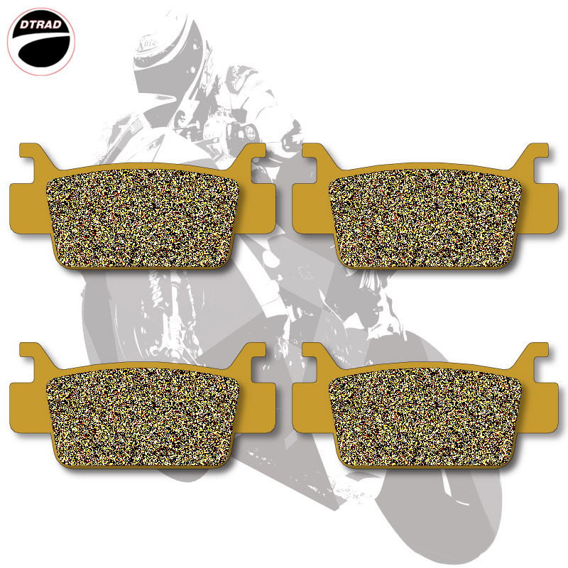 Motorcycle Brake Pads Front For HONDA TRX 500 FA Fourtrax Foreman Rubicon 05-11 TRX 680 06-11  цены