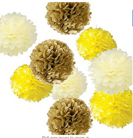 9pcs mixed 8 10 14 ivory yellow coffee tissue paper pom poms 9pcs mixed 8 10 14 ivory yellow coffee tissue paper pom poms flower wedding party baby girl room nursery decoration in artificial dried flowers from mightylinksfo