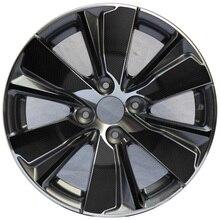 """SUNFADA 1"""" углеродное волокно RimPrints ступицы колеса наклейка на обод наклейки для PEUGEOT 2008- стайлинга автомобилей(для 4 колес"""
