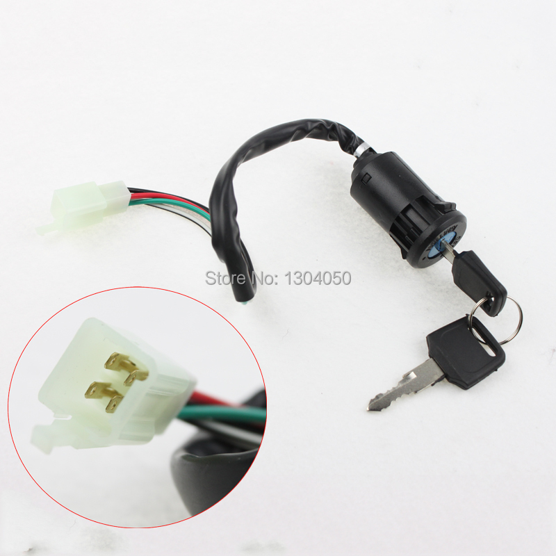 popular 110 atv wiring buy cheap 110 atv wiring lots from shipping atv key ignition switch 4 wire 50 70 90 110 125 150 200 250cc