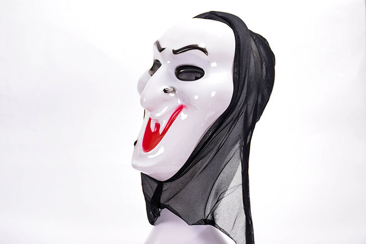 HTB1E6sqawmH3KVjSZKzq6z2OXXam - Horror Grim Reaper Accessories Pennywise Horror Clown Halloween Cosplay Screaming Costume