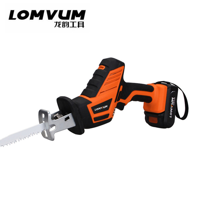 12V 16 8V lithium Battery Cordless Reciprocating Saw Kit Outdoor Electric Saw 2 PCS Blades for