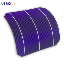 60Pcs Semi Flexible Solar Panel Sunpower 156mm*156mm Grade A Monocsytalline Solar Cell