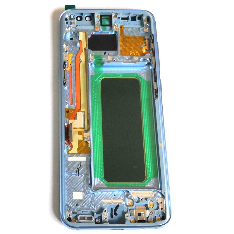 Amoled Per Samsung Galaxy S8 più G955 G955F G955u Display LCD Dello Schermo di Tocco di Vetro Digitizer Assembly Frame Per S8plus 1440x2960
