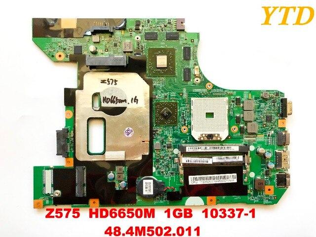 Originele Voor Lenovo Z575 Laptop Moederbord Z575 HD6650M 1Gb 10337 1 48.4M502.011 Getest Goede Gratis Verzending