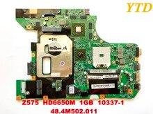 レノボZ575 ノートパソコンのマザーボードZ575 HD6650M 1 ギガバイト 10337 1 48.4M502。011 good tested送料無料