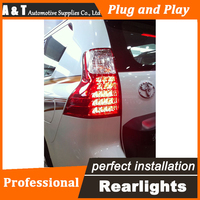 Стайлинга автомобилей Для Toyota PRADO Задние Фонари 2011 2013 Для ПРАДО LED Задний Фонарь задний крышка лампы drl + сигнал + тормоз + обратный светодиодн