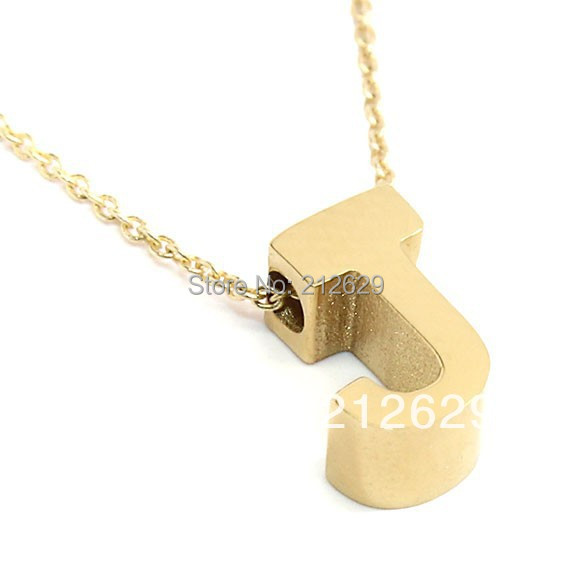 Wholesale 2016 j initial necklace stainless steel pendant pvd 18k wholesale 2016 j initial necklace stainless steel pendant pvd 18k plated jewelry gold metal charms custom name chain men in pendant necklaces from jewelry aloadofball Image collections