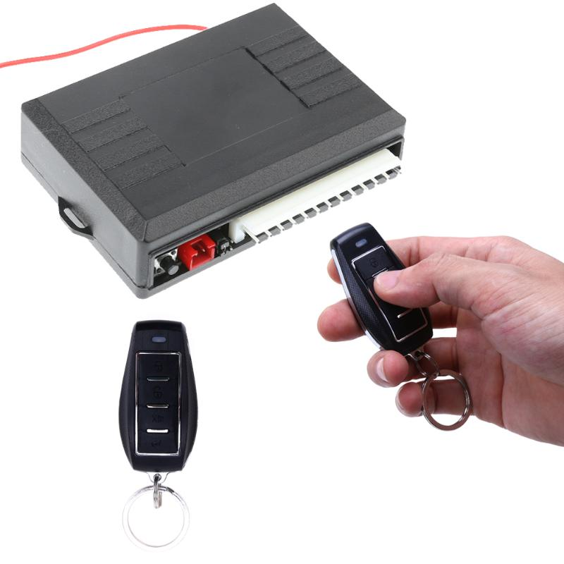 12V Car Alarm System Auto Remote Central Kit Door Lock Locking Vehicle Keyless Entry System with Remote Control High Quality