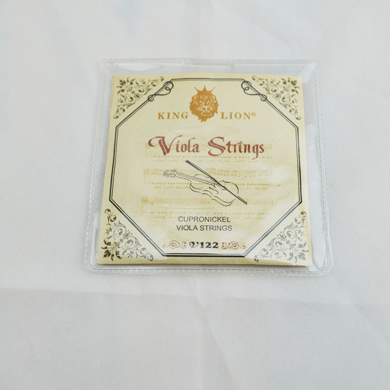 high quality Nickel Silver steel wire Viola Strings Set of 4 Strings Free Shipping replacement steel wire violin strings set for size 1 4 silver 4 pcs