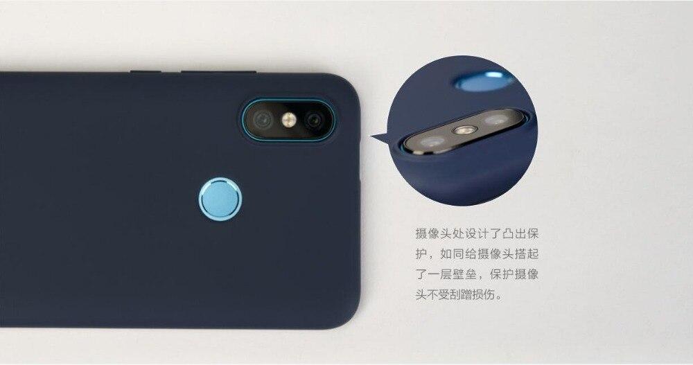 Image 3 - Original Xiaomi MI A2 Lite Case Xiaomi Mi 6X Back Capa Matte Phone Cover Fuda Capa mi6x a 2 lite PC Hard shockproof redmi 6 pro-in Fitted Cases from Cellphones & Telecommunications