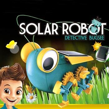 Solar Power Transformation Robot Kit  1