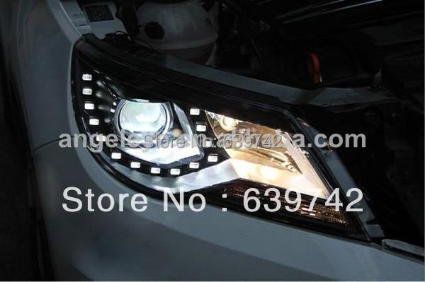 Для VW 2010-2012 року світлодіодні головні - Автомобільні фари - фото 5