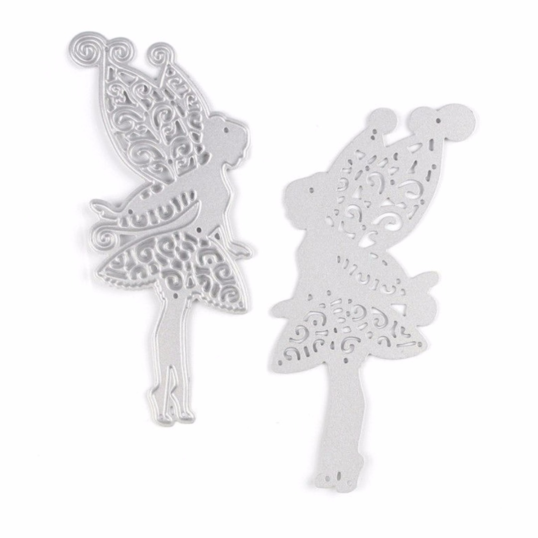 Fairy Design Metal Cutting Dies For DIY Scrapbooking Album Paper Cards JX