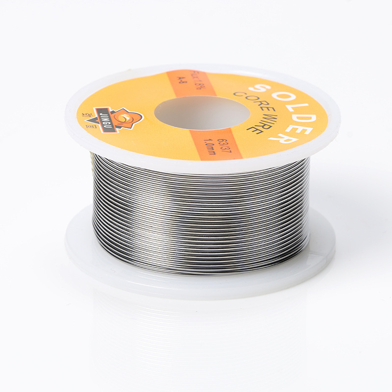 Welding Iron Wire Reel 50g FLUX 2.0% 1mm/0.8mm 63/37 45FT Tin Lead Line Rosin Core Flux Solder Soldering Wholesale цена