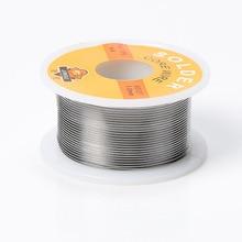 Welding Iron Wire Reel 50g FLUX 2.0% 1mm/0.8mm 63/37 45FT Tin Lead Line Rosin Core Flux