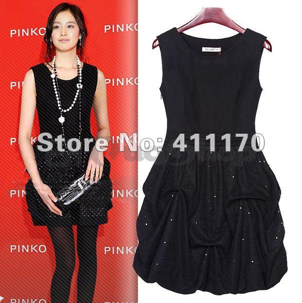 Long black church dresses