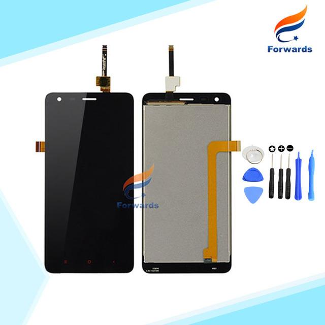 Completa testado lcd para xiaomi redmi 2 screen display + touch digitador assembléia preto para hongmi 2 com ferramentas 1 peça livre grátis