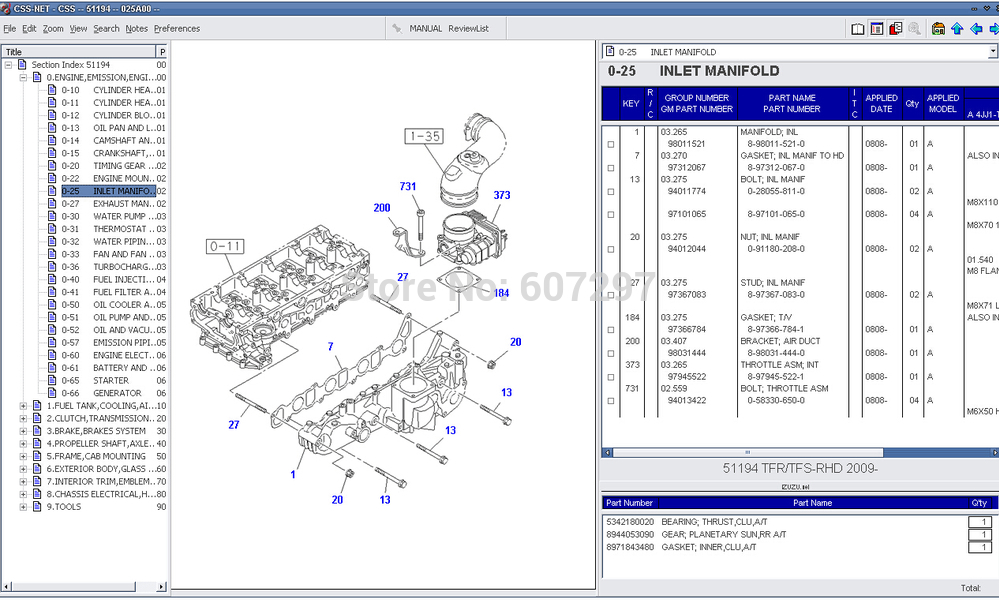 1991 isuzu engine diagram library of wiring diagrams u2022 rh sv ti com Isuzu Part Number Search Isuzu Trooper Parts Diagram