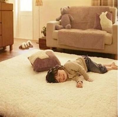 Nouveau 1200mm x 2500mm x 45mm épais riche tapis Shaggy grand tapis doux tapis coureur tapis de sol tapis de salon tapis - 3