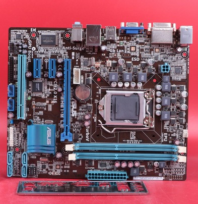 original motherboard for ASUS P8H61-M LE DDR3 LGA 1155 for I3 I5 I7 32nm CPU 16GB USB2.0 H61 motherboard Free shipping