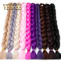 Synthetic Kanekalon Braiding Hair 84inch 165g/pcs Kanekalon Jumbo Braid Bulk Kanekalon African Braiding Hair style Crochet Hair