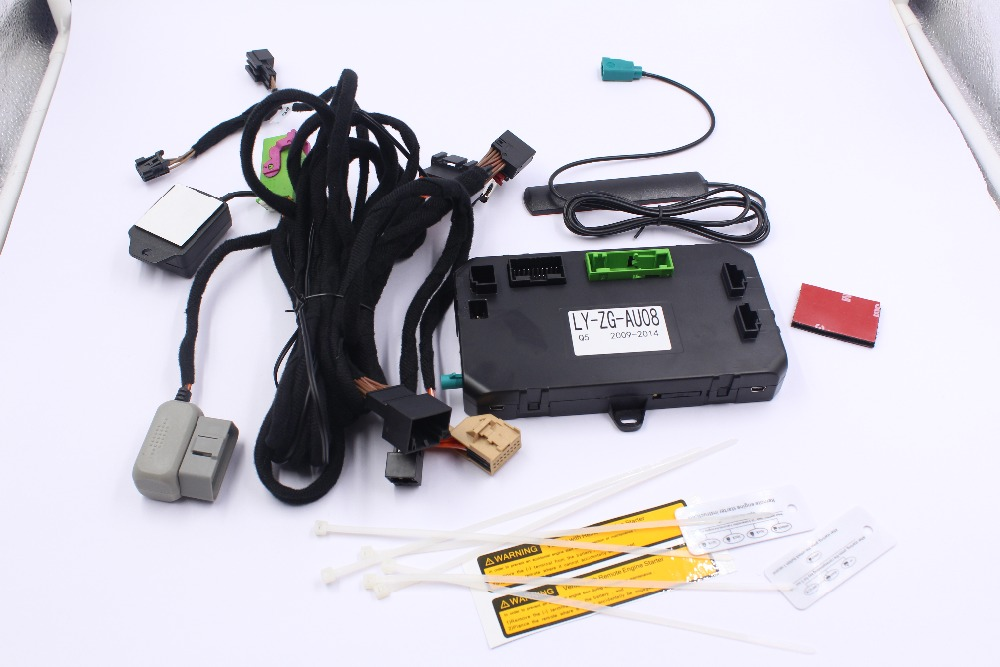 Security Engine Remote Starter Kit For Audi A8l  A8l W12  2012 2017  Keyless Entry Vehicle