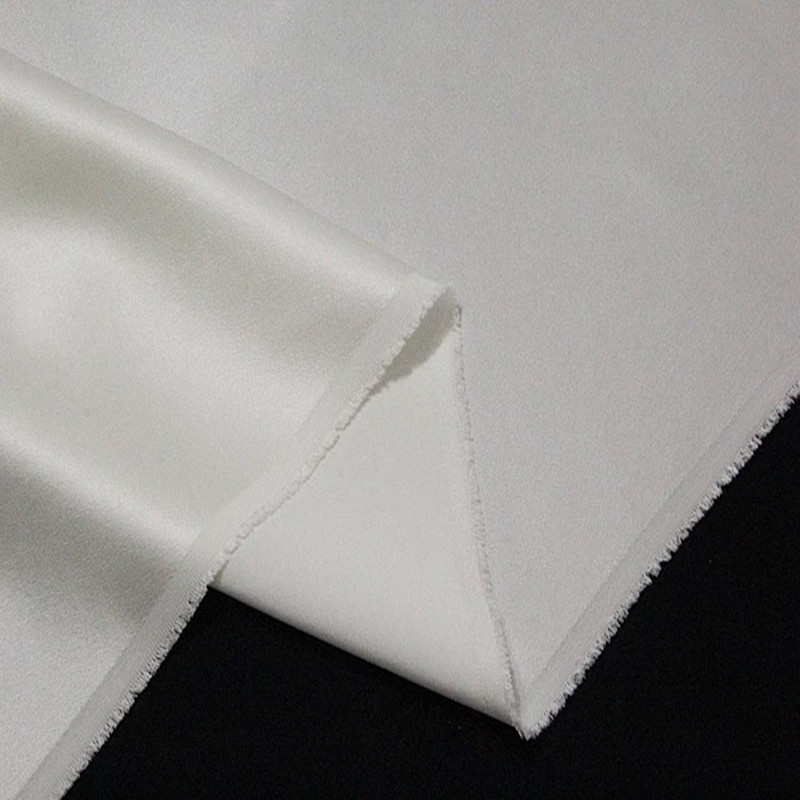 "30 gs//m 100/% Pure Silk fabric Tulle 52/"" Natural White"