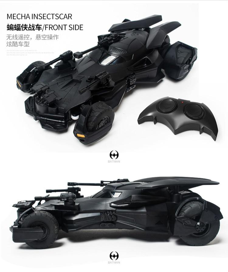 Batman Superman Justice League electric Batman RC car childrens toy model (11)