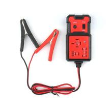 Universal 12V Cars Relay Tester Testing Tool Auto Battery Checker Accurate Diagnostic Tool Portable Automotive Parts for all cars frequency tester car auto vehicle automotive circuit tester detector battery diagnostic tool