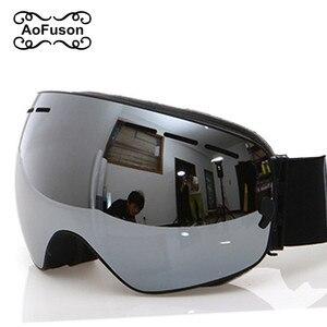 Image 1 - แว่นตาสกี,แว่นตา2020ใหม่ยี่ห้อProfessional Anti Fog Double Lens UV400ทรงกลมขนาดใหญ่ผู้ชายผู้หญิงแว่นตาสกีสโนว์บอร์ดGoggles