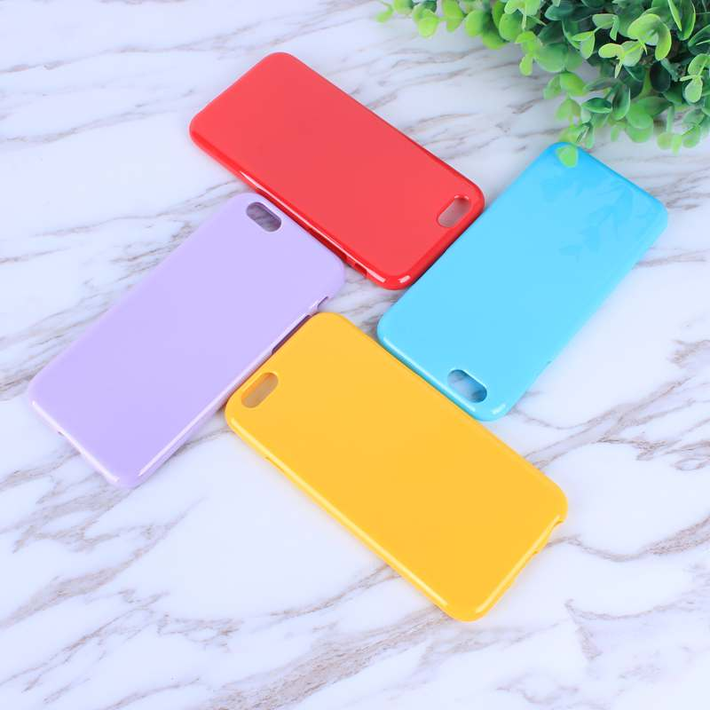 HTB1E6xGo8DH8KJjSszcq6zDTFXaH - FREE SHIPING Candy Color TPU Rubber Silicone Soft Gloss Phone Cases Back Cover For iPhone 6 6s 7 8 Plus 5 5s SE X JKP387