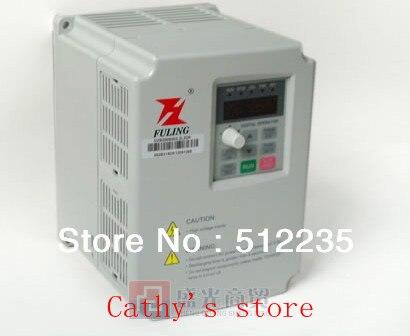 Convertisseur de fréquence Variable 2.2kw FULING DZB200B Fuling 2.2KW VFD variateur de fréquence 220 V pour moteur de broche 2.2KW
