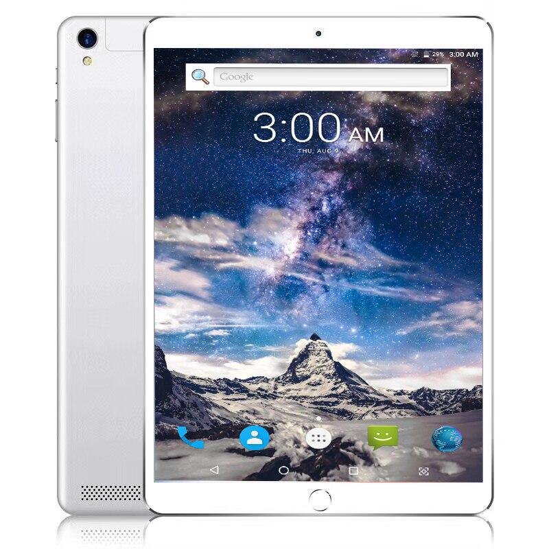 все цены на 10.1' Tablets Android 7.11 10 Core 128GB ROM Dual Camera 8MP Dual SIM Tablet PC GPS WiFi Bluetooth phone 4G LTE FDD TDD онлайн